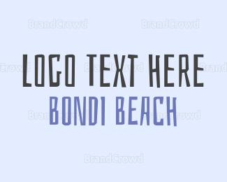 Beige - Bondi Beach logo design