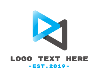Animation - Loop Media logo design