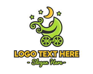 Eco-friendly - Eco-friendly Stroller logo design