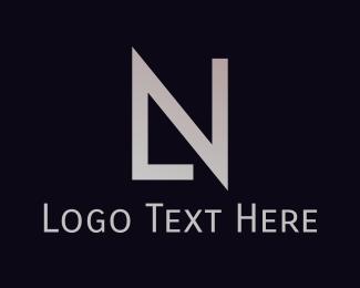 Letter L - L & N  logo design
