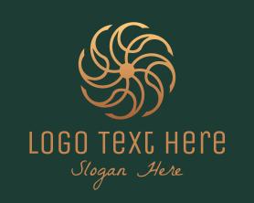 Company - Bronze Luxury Ornament logo design