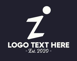 Penmanship - Elegant Letter I logo design