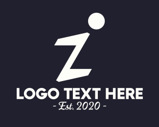 Calligraphy - Elegant Letter I logo design