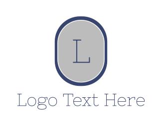 Professional - Blue Professional Lettermark logo design