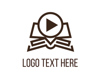 Play - Video Book logo design