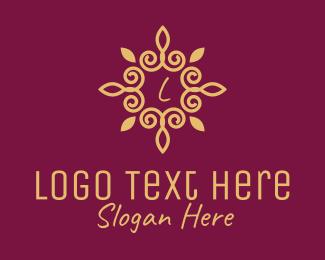 Pendant - Gold Elegant Lettermark  logo design