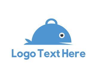 Cater - Fish Tray logo design