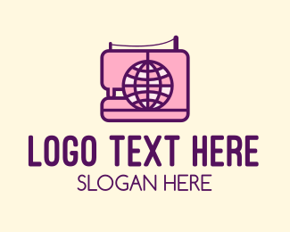 Clothe - Global Sewing Company logo design