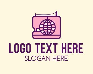 Company - Global Sewing Company logo design