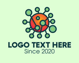 Microbiology - Virus Science Laboratory logo design