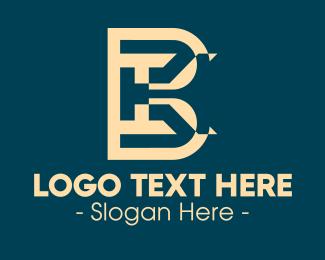 Monogram - IBK Monogram logo design