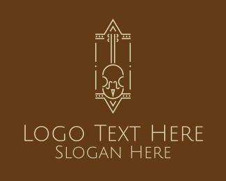 Classic - Classic Violin logo design