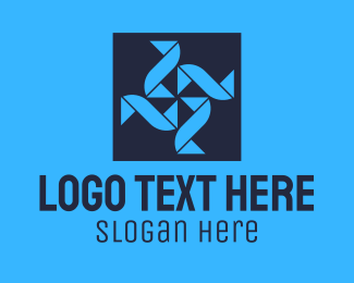 Symbol - Abstract Square Symbol logo design