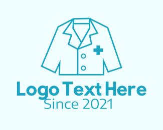 Uniform - Blue Medical Uniform  logo design