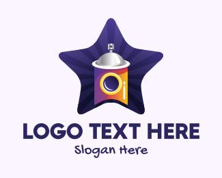 Art - Graffiti Art Star logo design