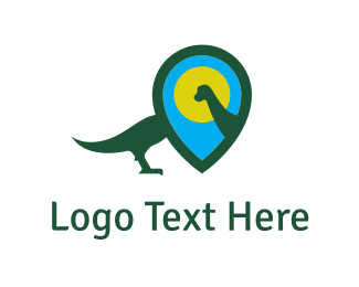 Point - Dinosaur Locator logo design