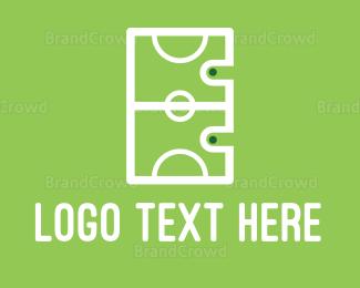 Soccer - Soccer Field logo design