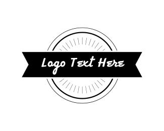 Fc - Hipster Emblem logo design
