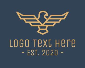 Sigil - Pilot Eagle Crest logo design