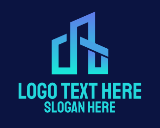 Blue City Construction  Logo
