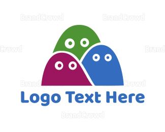 Fiction - Ghost Trio logo design