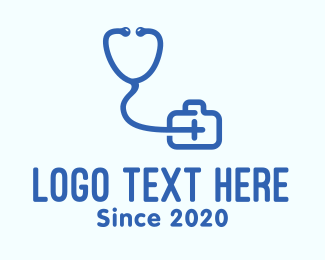 Medical Consultation - Medical Doctor Consultation Clinic logo design