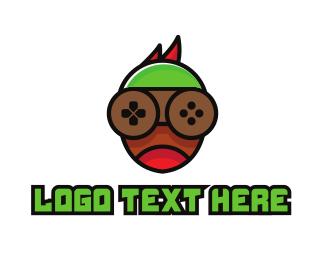 Specs - Abstract Boy Gaming logo design