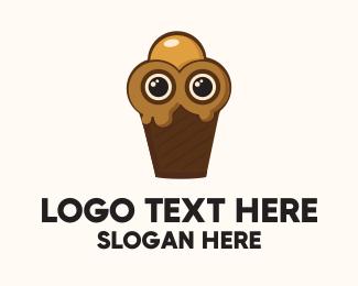 Sorbet - Ice Cream Character logo design