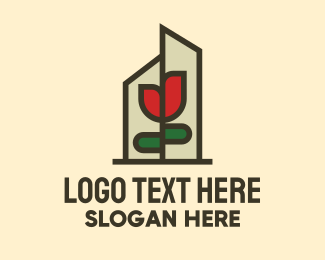 Lotion - Flower Terrarium logo design