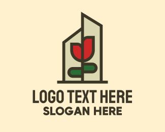 Lotion - Flower Terrarium logo design