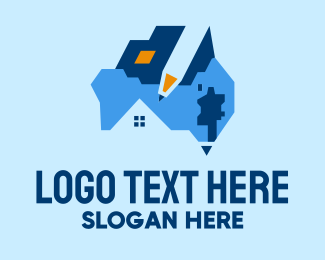 Estate - Australian Real Estate Deal  logo design