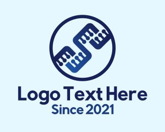 Electronics - Electronic Circuit Badge logo design