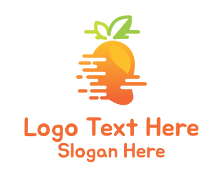 Vegan Food - Fast Mango logo design
