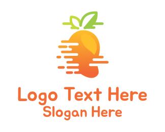 India - Fast Mango logo design