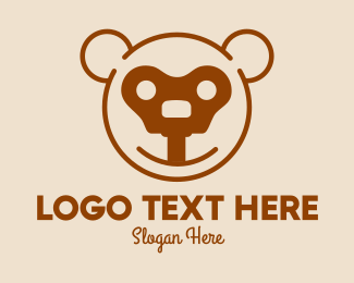 Teddy Bear Key Logo