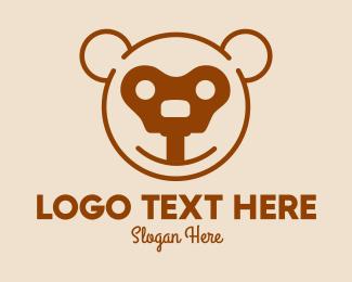 Teddy - Teddy Bear Key logo design