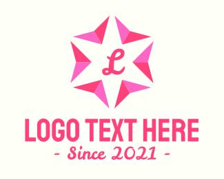 Festival - Festive Flower Letter logo design