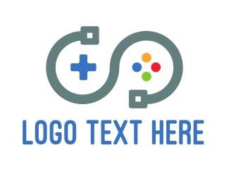 Gaming - Game Circuit logo design