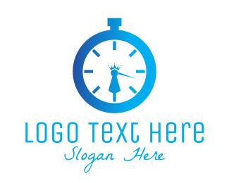 Royal - Royal Clock logo design