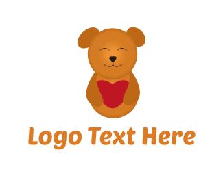 Teddy Bear - Cute Teddy Bear logo design