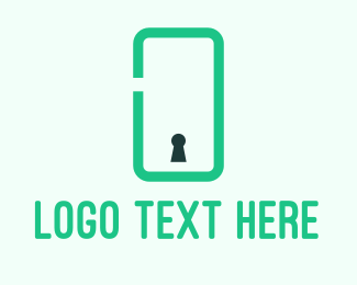Security - Phone Security logo design
