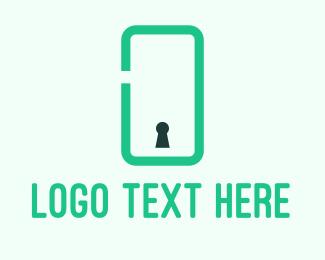 Key - Phone Security logo design