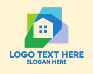 Simple - Simple Colorful Home Realty logo design