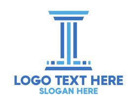 """""""Stripe Column Law Firm"""" by SimplePixelSL"""
