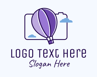 Air Balloon - Hot Air Balloon Photography logo design