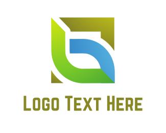 Square - Eco Square logo design