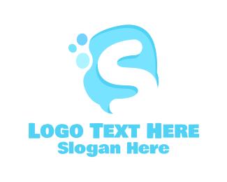 Soap - Letter S Soap logo design