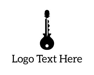 Instrument - Guitar Key logo design