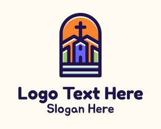 Arch - Chapel Cross Arch logo design