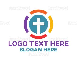 Colorful - Colorful Church logo design